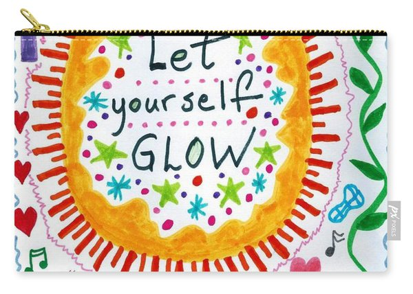 Let Yourself Glow Carry-all Pouch