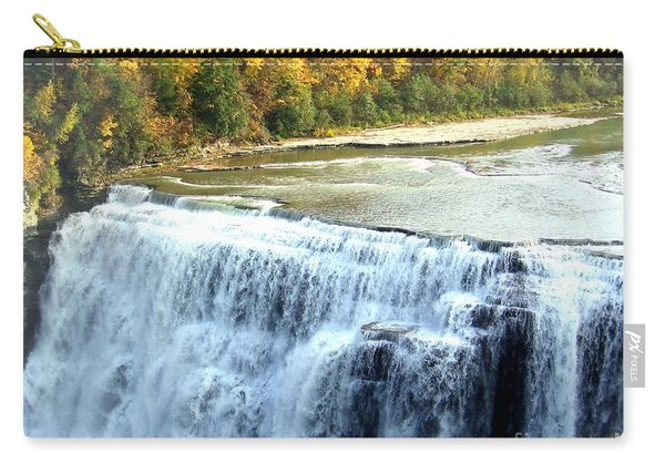 Letchworth State Park Middle Falls Autumn Carry-all Pouch