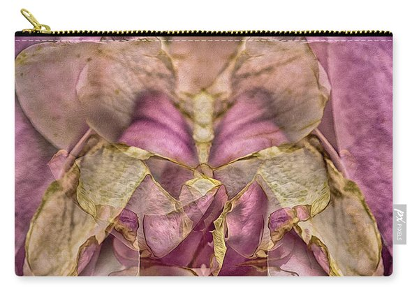 Lether Butterfly Or Not Carry-all Pouch