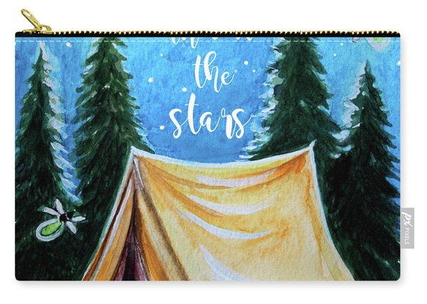 Let's Camp Out Under The Stars Carry-all Pouch