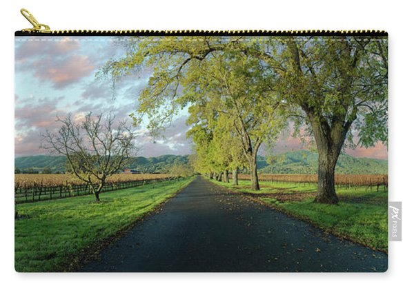 Let's Drive Through The Vineyard Carry-all Pouch