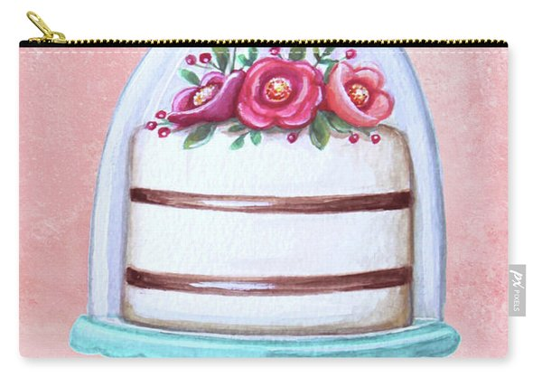 Let's Eat Cake Carry-all Pouch