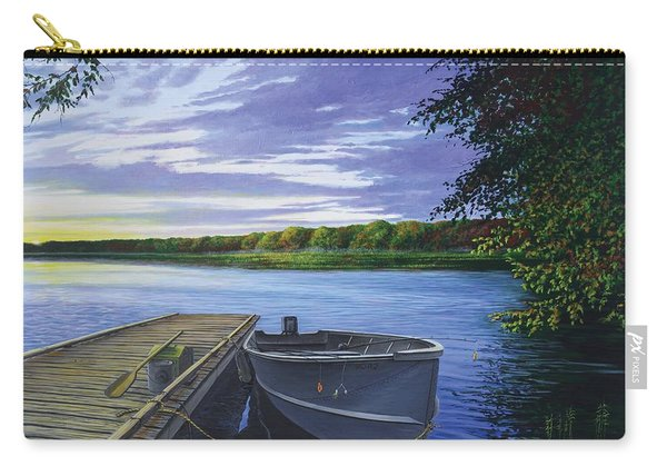 Let's Go Fishing Carry-all Pouch