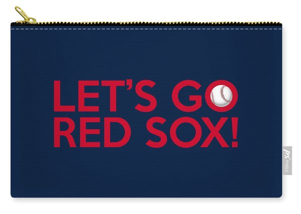 Let's Go Red Sox Carry-all Pouch