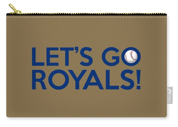 Let's Go Royals Carry-all Pouch