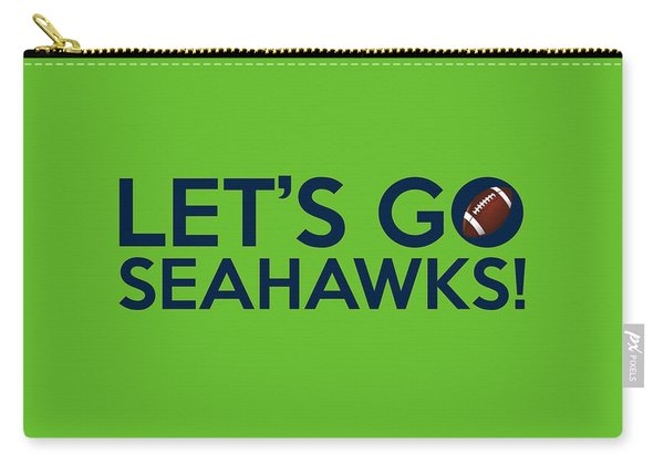 Let's Go Seahawks Carry-all Pouch
