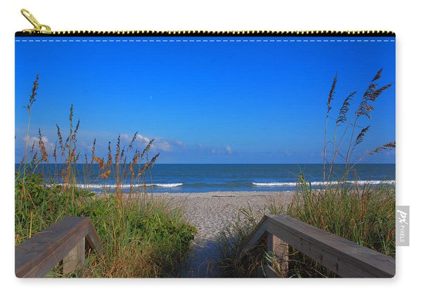 Lets Go To The Beach Carry-all Pouch