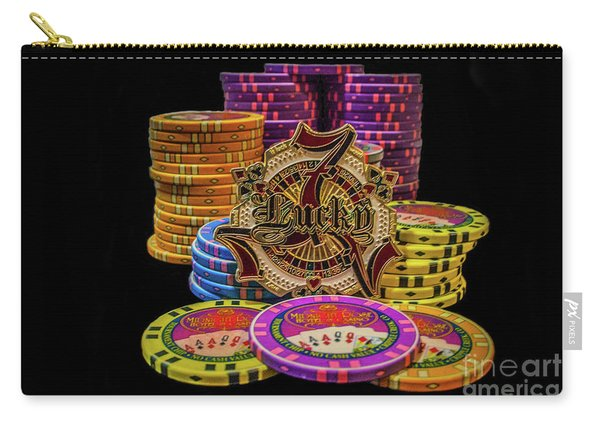 Lets Play Poker Carry-all Pouch