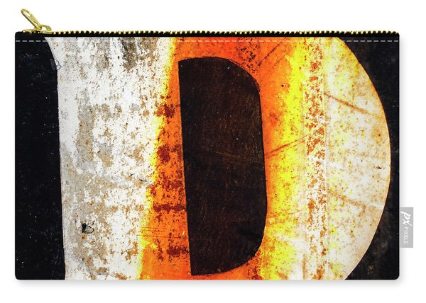 Letter D Squared Carry-all Pouch