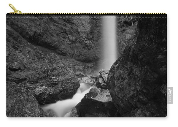 Leuenfall In Black And White Carry-all Pouch