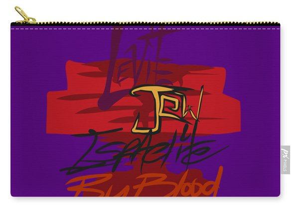Levite By Blood Carry-all Pouch