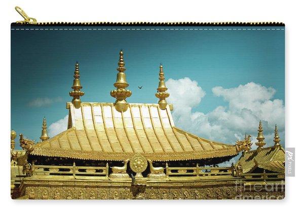 Lhasa Jokhang Temple Fragment Tibet Artmif.lv Carry-all Pouch