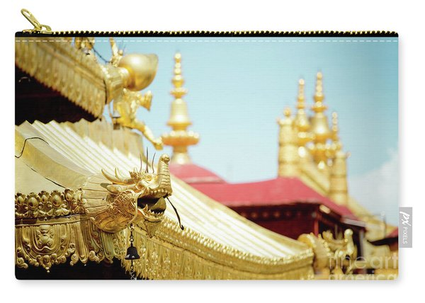 Lhasa Jokhang Temple Fragment Tibet Carry-all Pouch
