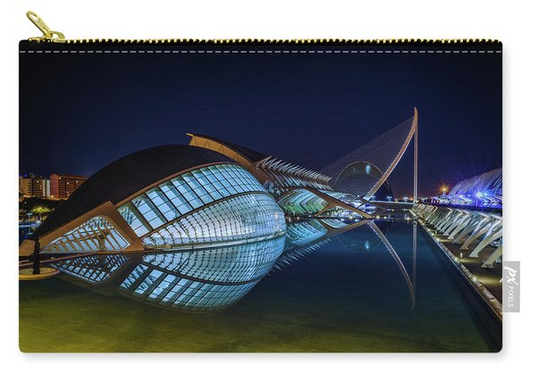L'hemisferic In Valencia Carry-all Pouch
