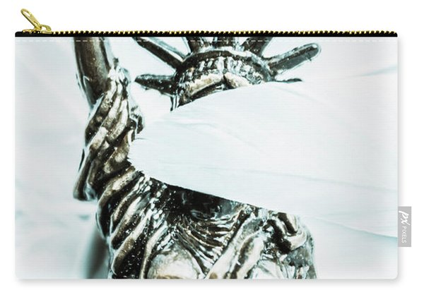 Liberty Blinded By Corruption Carry-all Pouch
