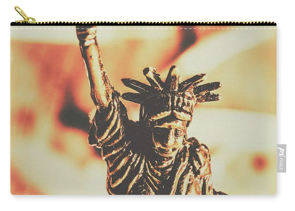 Liberty Will Enlighten The World Carry-all Pouch