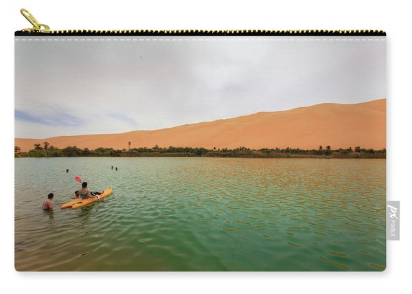 Libyan Oasis Carry-all Pouch