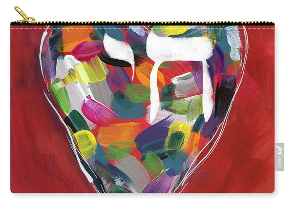 Life Is Colorful - Art By Linda Woods Carry-all Pouch