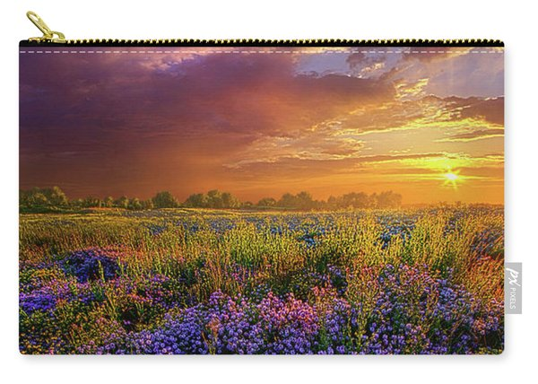 Life Is Measured In Moments Carry-all Pouch