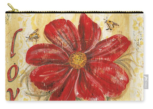 Life Is The Flower Carry-all Pouch