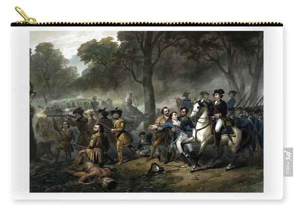 Life Of George Washington - The Soldier Carry-all Pouch