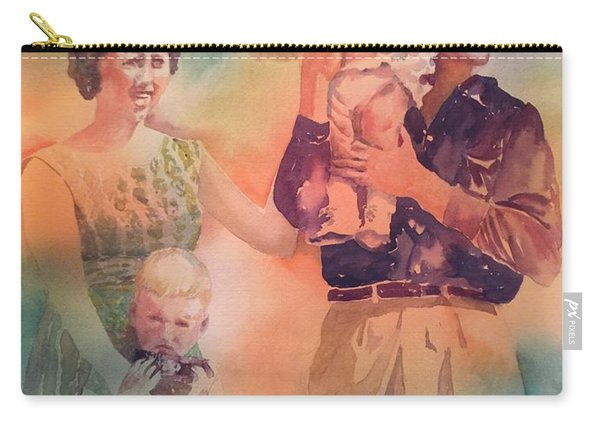 Life Was Good, Circa 1957 Carry-all Pouch