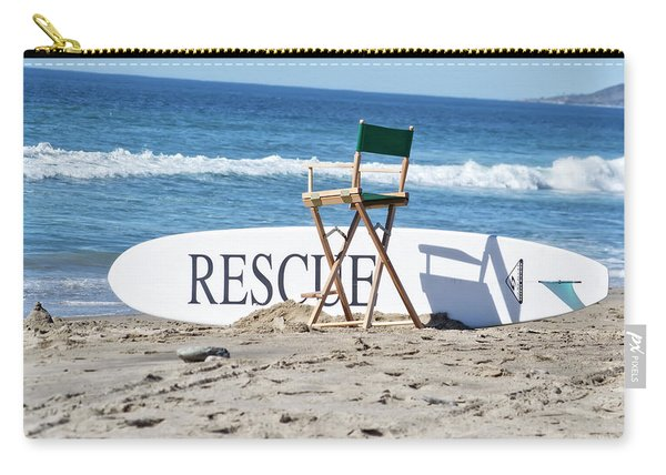 Lifeguard Surfboard Rescue Station  Carry-all Pouch