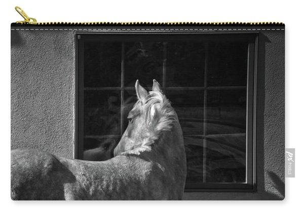 Carry-all Pouch featuring the photograph Light And Shadow by Catherine Sobredo