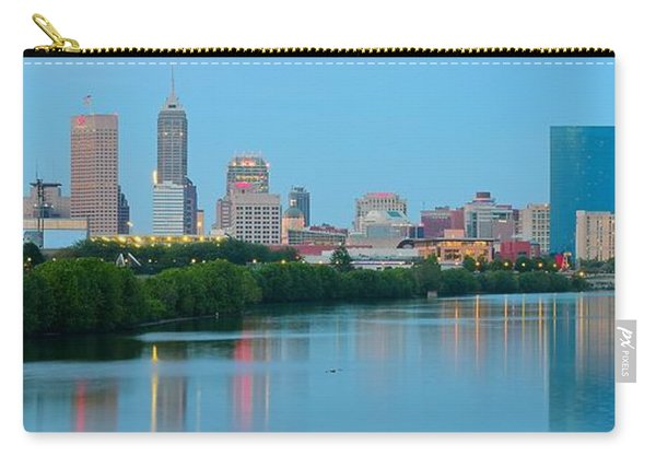 Light Blue Indianapolis Carry-all Pouch
