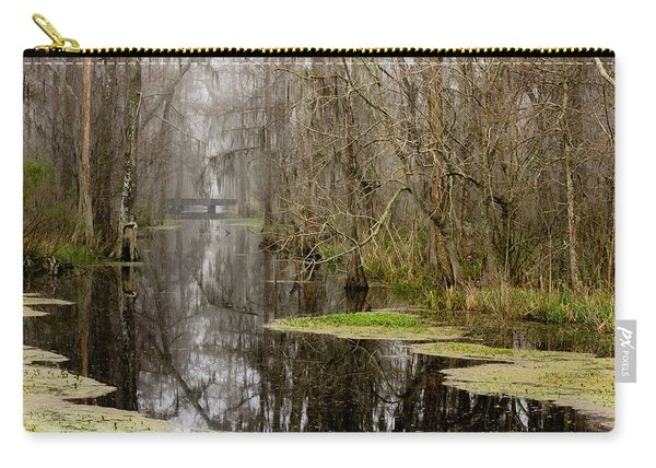 Light Fog On The Swamp Carry-all Pouch