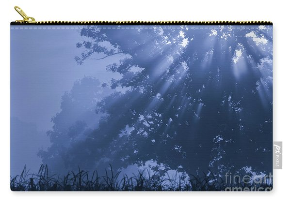 Light In Blue Carry-all Pouch