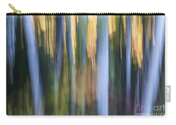Light In Evening Forest Carry-all Pouch