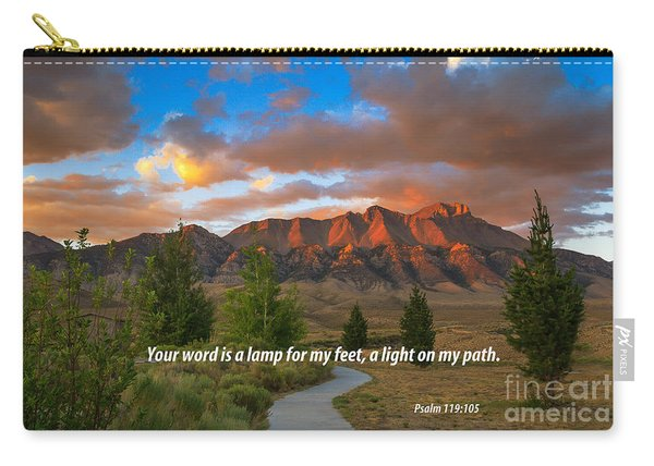 Light On My Path Carry-all Pouch