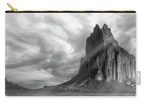 Light On Shiprock Carry-all Pouch