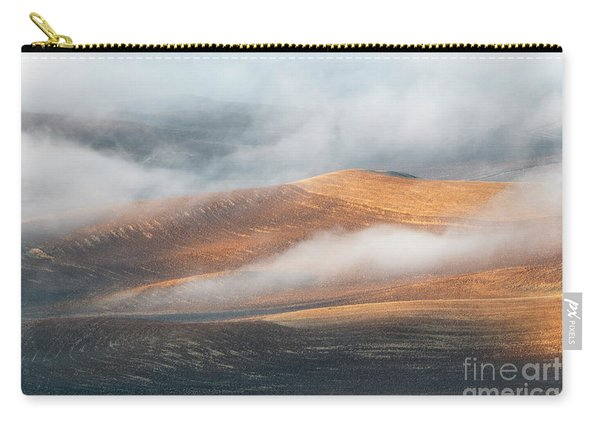Light On The Hills Carry-all Pouch