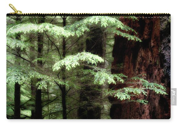 Light On Trees Carry-all Pouch
