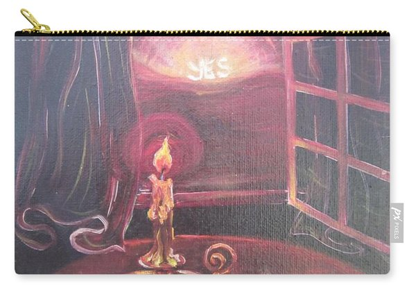 Flying Lamb Productions      Light The Yes Candle Carry-all Pouch