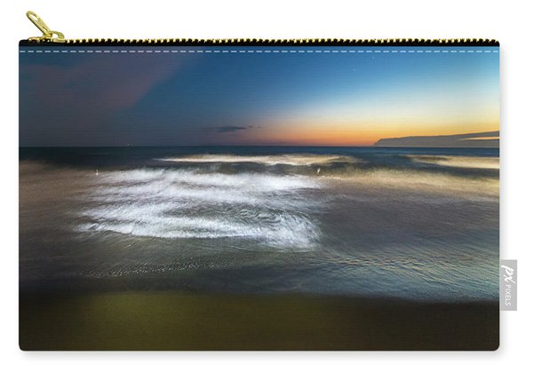 Light Waves At Sunset - Onde Di Luce Al Tramonto II Carry-all Pouch