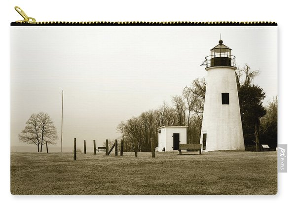 Lighthouse At Turkey Point Carry-all Pouch