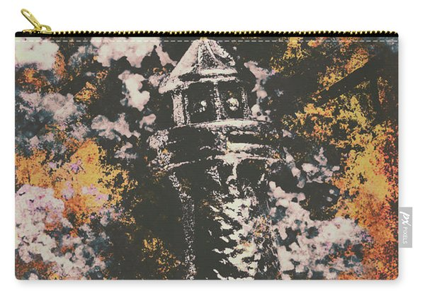 Lighthouse From Rust Harbour Carry-all Pouch