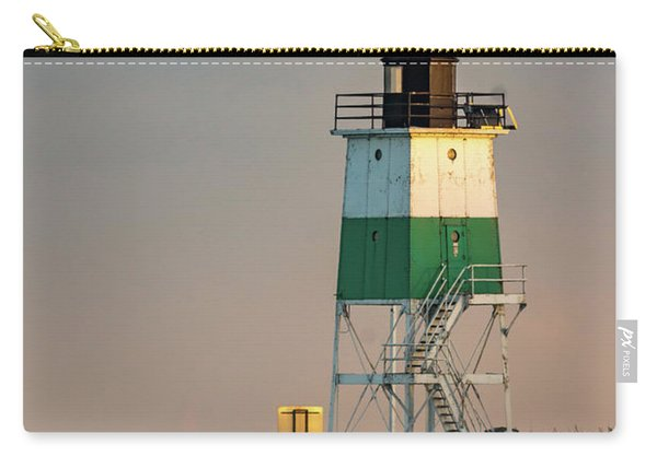 Lighthouse In The Sunset Carry-all Pouch
