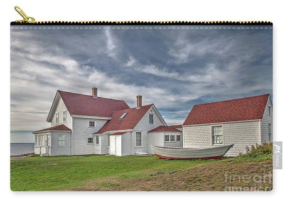 Keepers House At The Monheagn Lighthouse Carry-all Pouch