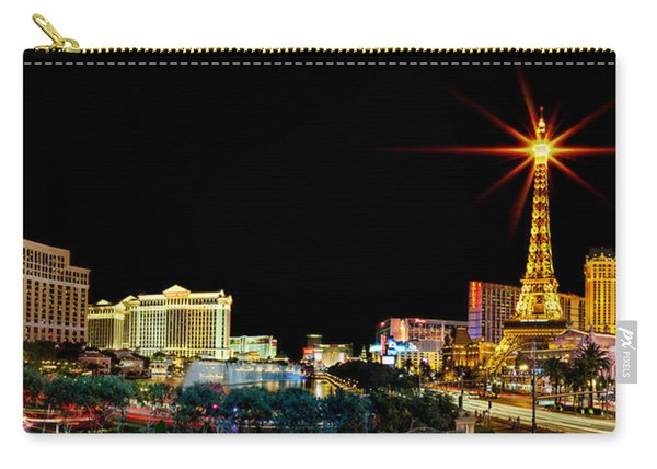 Lighting Up Vegas Carry-all Pouch