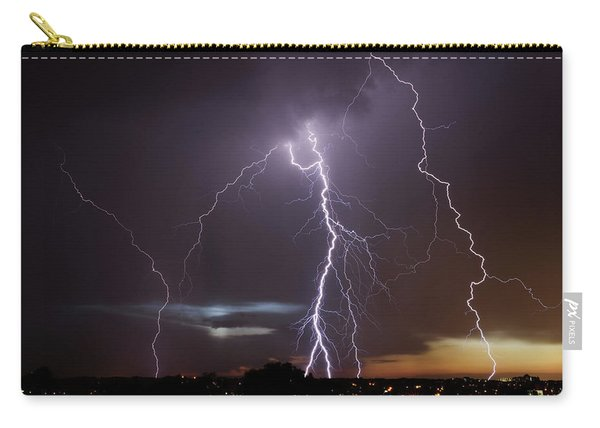 Lightning At Dusk Carry-all Pouch