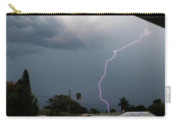 Lightning Bolt Illuminates The Sky Carry-all Pouch