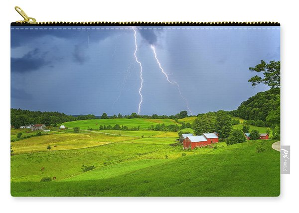 Lightning Storm Over Jenne Farm Carry-all Pouch