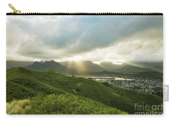 Lightrays Over Ko'olau Mountains Carry-all Pouch