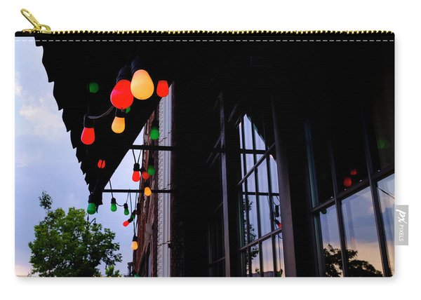 Lights In Corktown In Detroit Michigan Carry-all Pouch