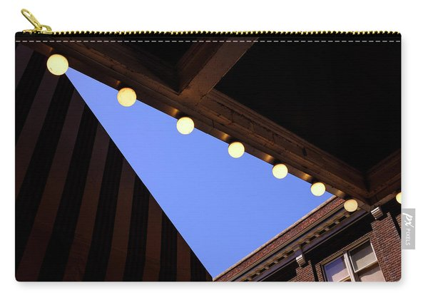 Lights Roofs And Triangles In Frederick Maryland Carry-all Pouch
