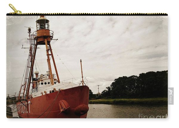 Lightship Nantucket Wlv-613 At Wareham Carry-all Pouch